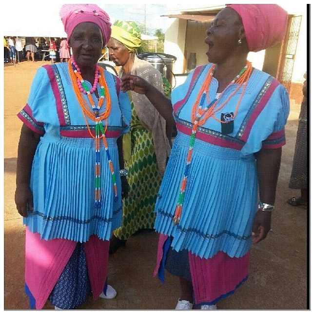 Women From My Village On #neighbours #weddingday @limpopo