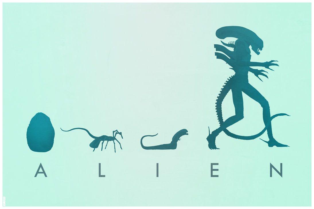 Evolution of Alien