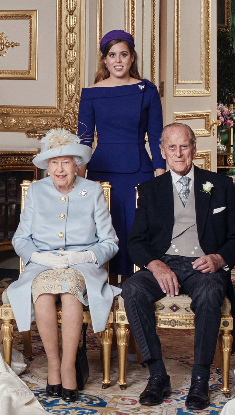 The Queen Prince Philip And Princess Beatrice Princess