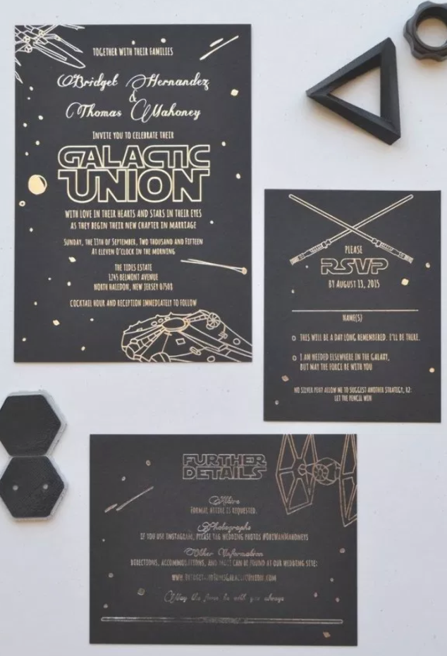 30 Inspiration Image Of Star Wars Wedding Invitations Star Wars Birthday Invitation Star Wars Wedding Theme Wedding Invitation Templates