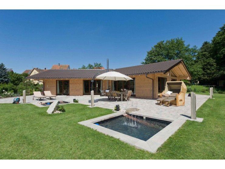 Holzhaus bungalow modern  Chalet Cilgia - #Einfamilienhaus von Fullwood - LK-Fertigbau GmbH ...