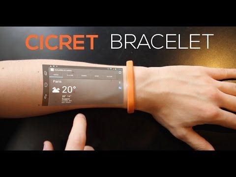 This Smartwatch concept will blow your mind! (Cicret