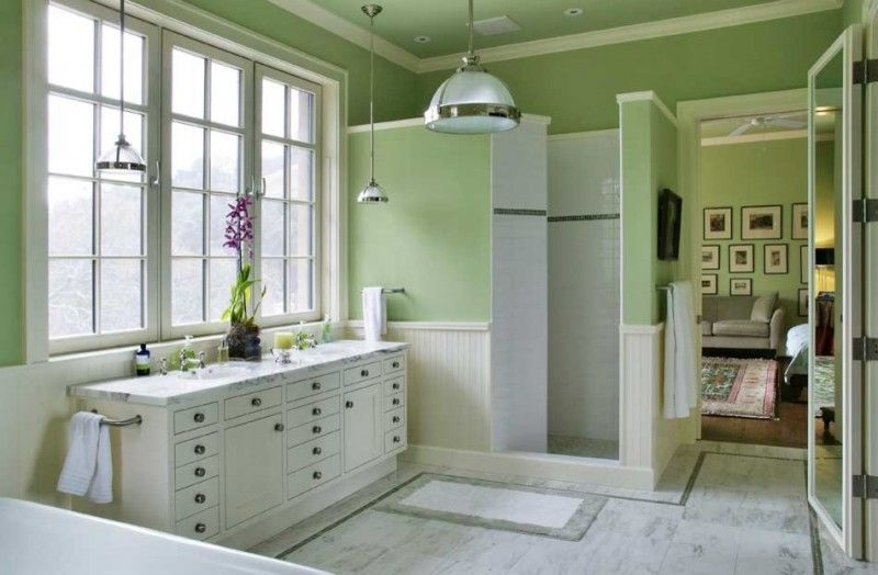 walk in showers without doors lime wall paint steel hang lamp cover white bathroom tiles gray