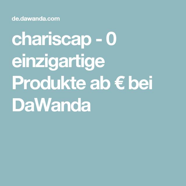 chariscap - 0 einzigartige Produkte ab €  bei DaWanda