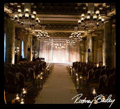 Crystal Room Wedding Ceremony. #Wedding #CrystalRoom