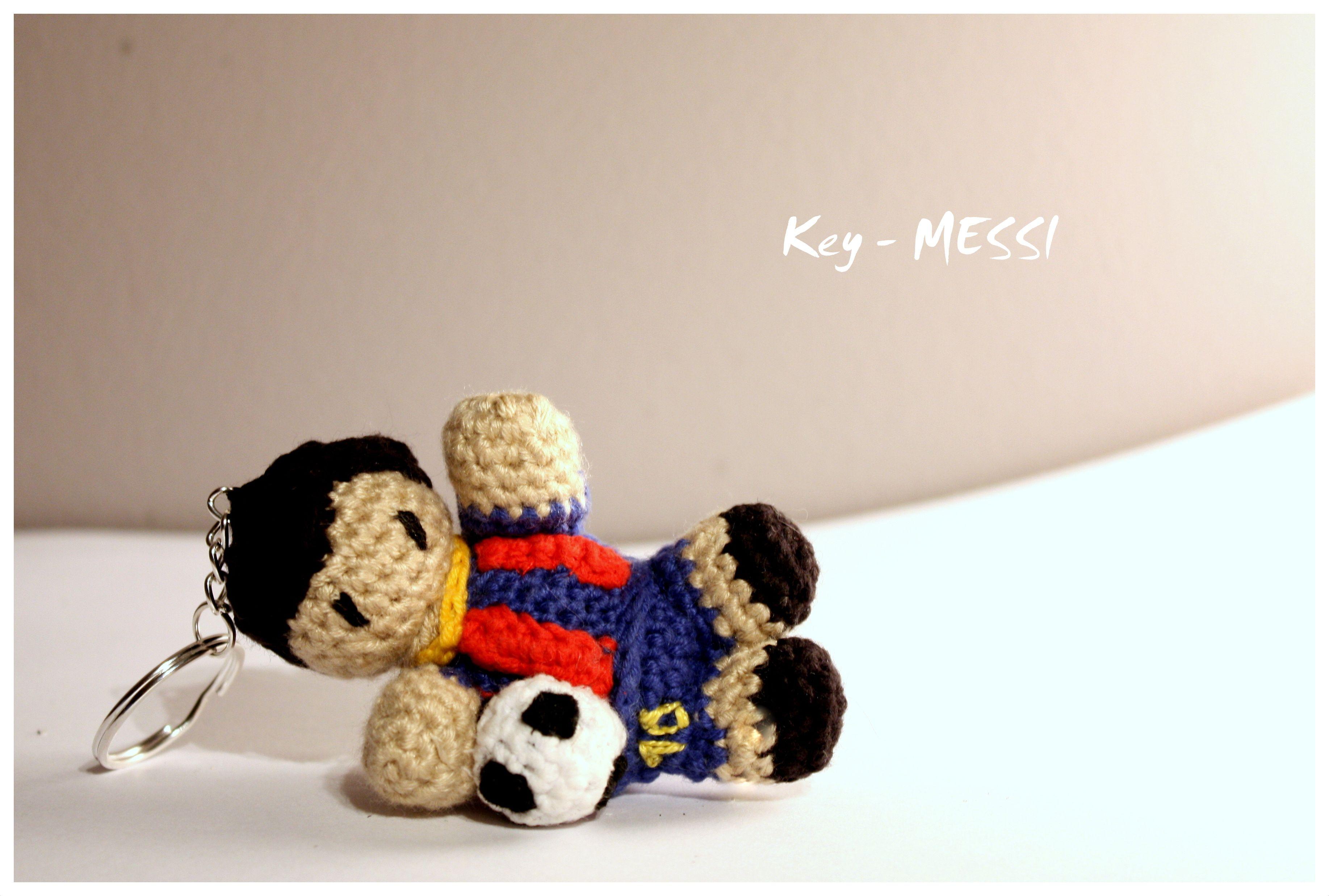 Amigurumi Messi / Key - Messi #amigurumi #amigurumis #messi ...
