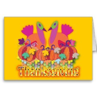 thanksGivings Card