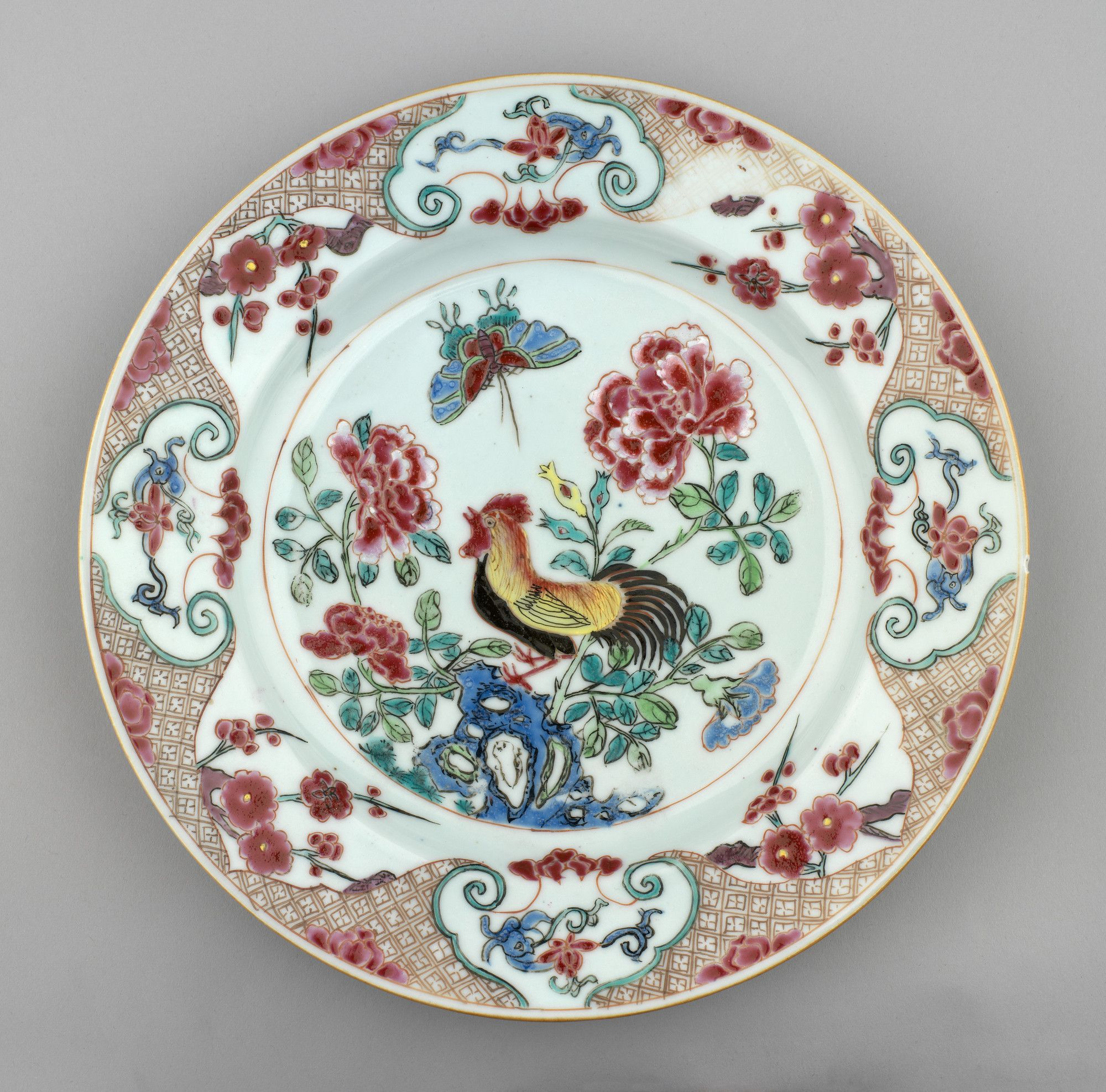Jingdezhen Porcelain Jiangxi Province China Plate C 1730 1750 Royal Collection Trust Her Majesty Queen Elizabeth Porcellana Vasi Antipasti Di Verdure