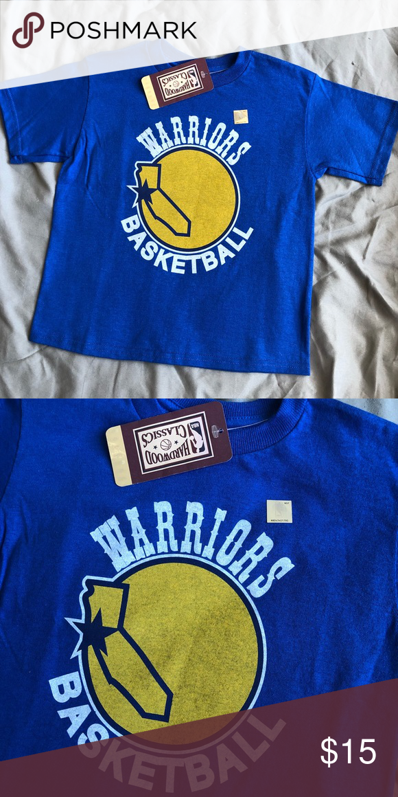 NWT Golden State Warriors Youth Basketball Shirt   Basketball shirts, Youth basketball, Shirts