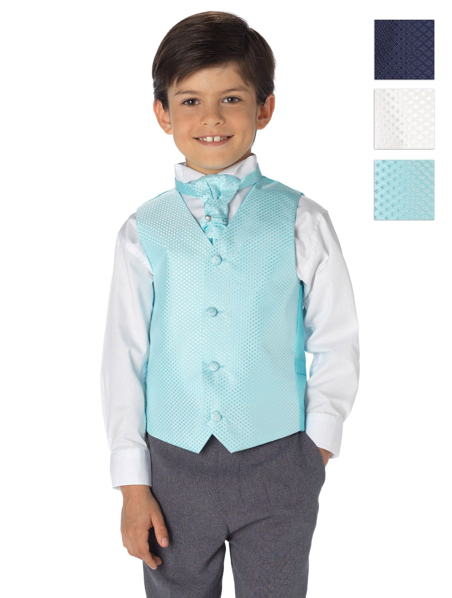 Boys waistcoat suit - Victor | Pinterest | Boys wedding suits ...
