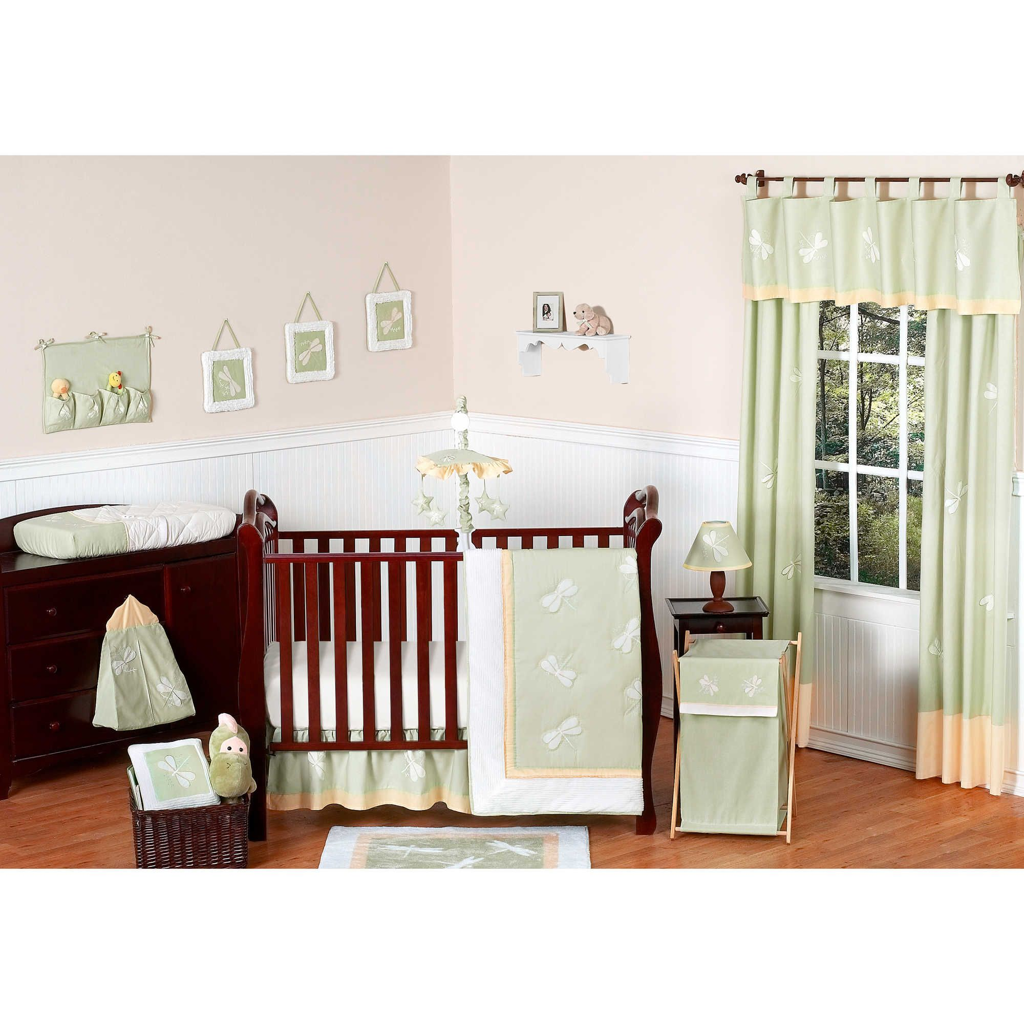 shipping overstock jojo baby today harper bedding grey chic free shabby solid collection piece crib set designs product cribs girl sweet color