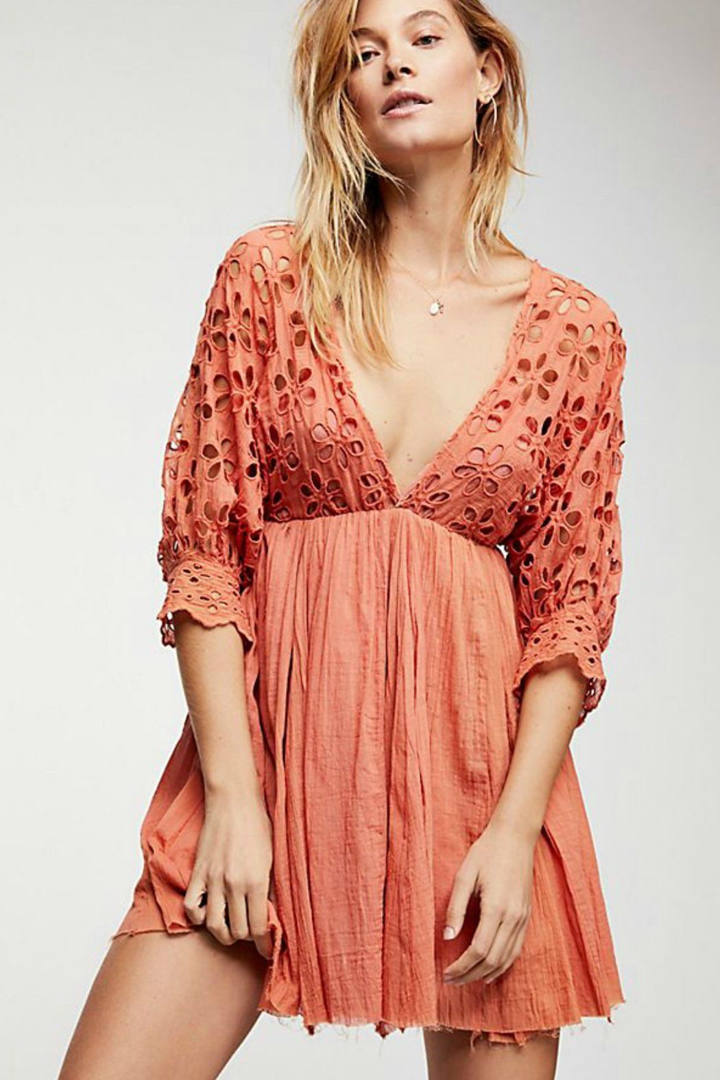 2cb387503493 Bella Note Eyelet Dress | Free People in 2019 | cutest clothes ...