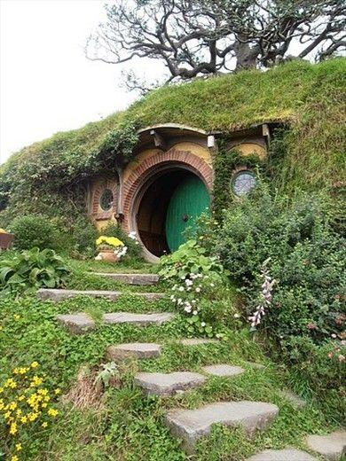 Bag End, Bilbo Baggins' house - Hobbiton, near Matamata, New Zealand -