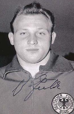 Uwe Seeler original signiertes Foto 10x15 cm