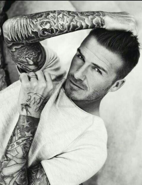 Pin by Heather Solomon on Boys | David beckham tattoos ...
