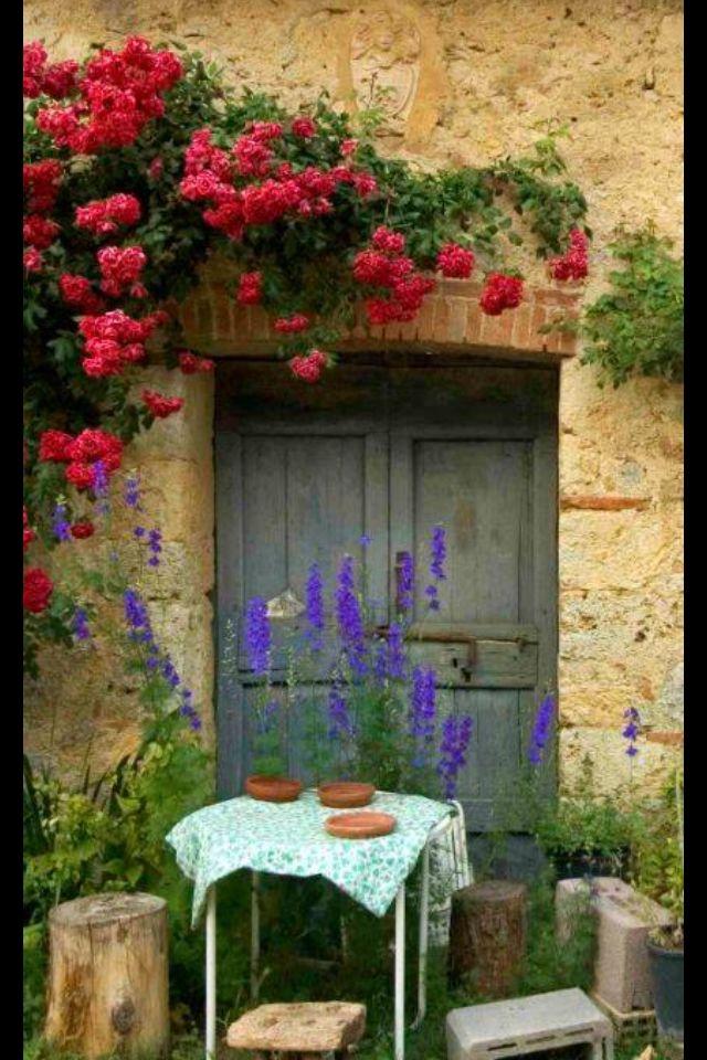 Special Beautiful Doors Tuscany Italy Tuscany