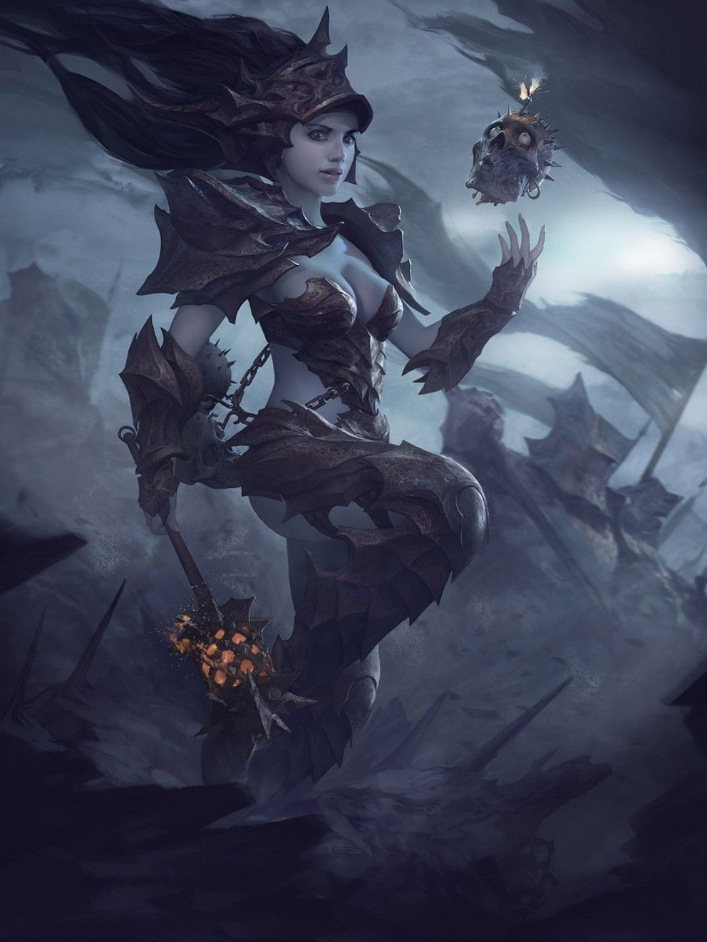 Fantasy-Art-Arthur-Bozonnet-Hellkin-Grenadier-992x1322.jpg (992×1322)