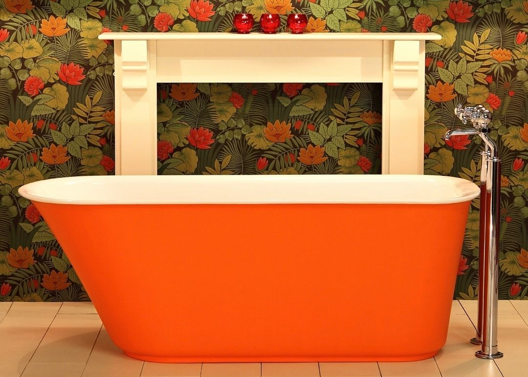 Engelse Badkamers Company : Our iso enamel baths keep water warmer for hours #bad #baden