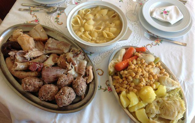 Cocido Catalán (Escudella i Carn d'Olla)