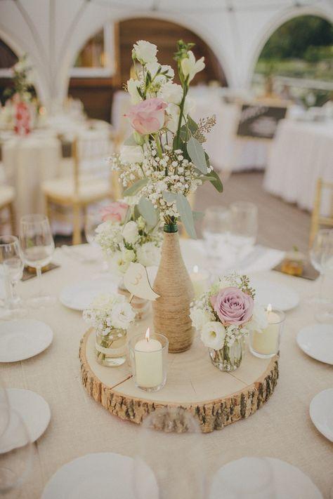 Rustikale Hochzeit Hochzeitsplanung und Dekor: Pinjata www.facebook.com / … / Photog #flowerbouquetwedding