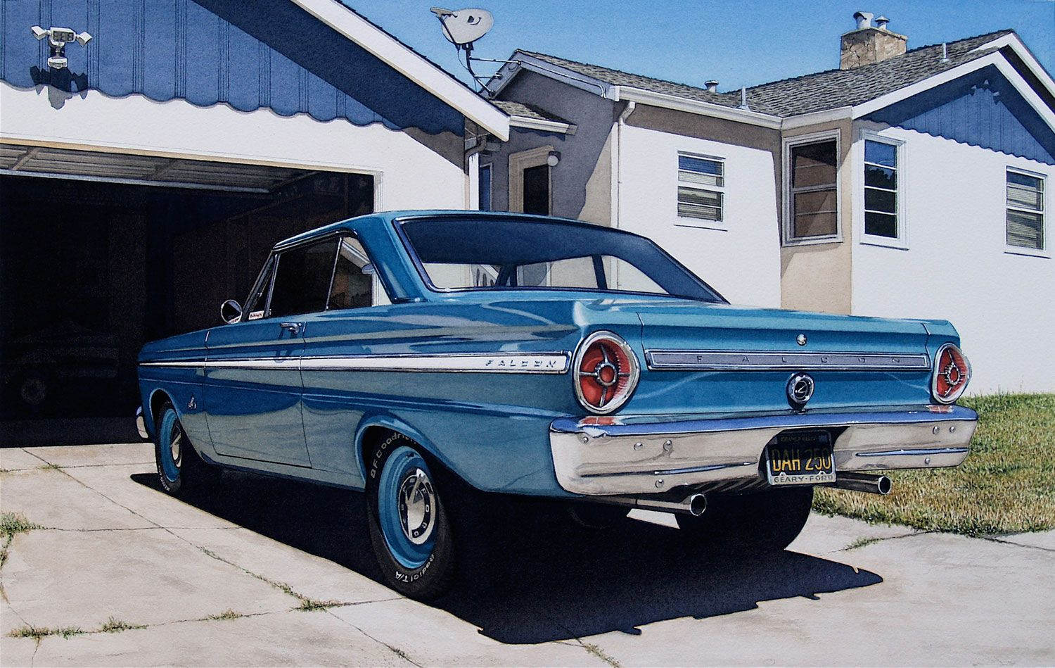 1961 ford falcon for sale racingjunk classifieds -  Mike S 66 Falcon Mark Goings Bernarducci Meisel Gallery