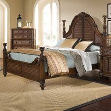 Palm Court II Panel  Bed