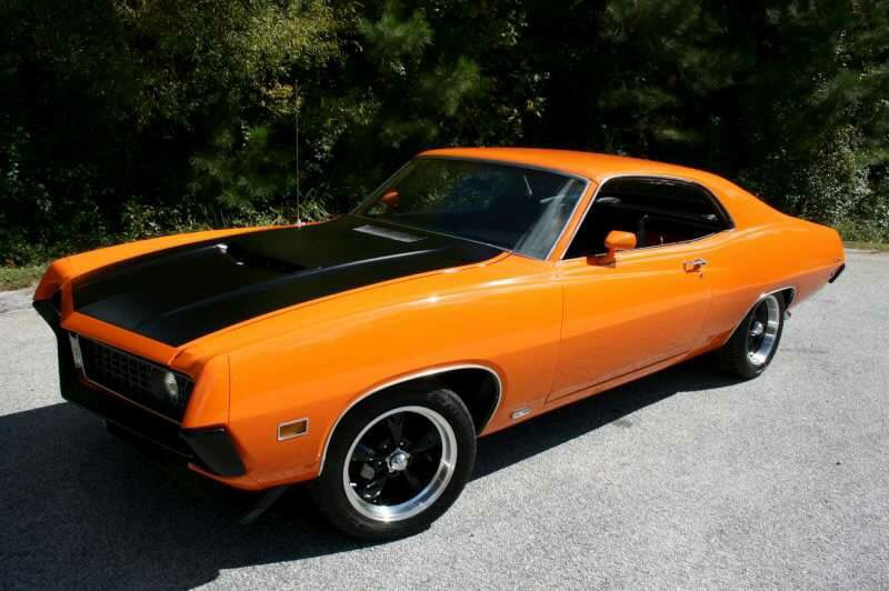 1971 Ford Torino 429 Ford Torino Old Muscle Cars Ford Fairlane
