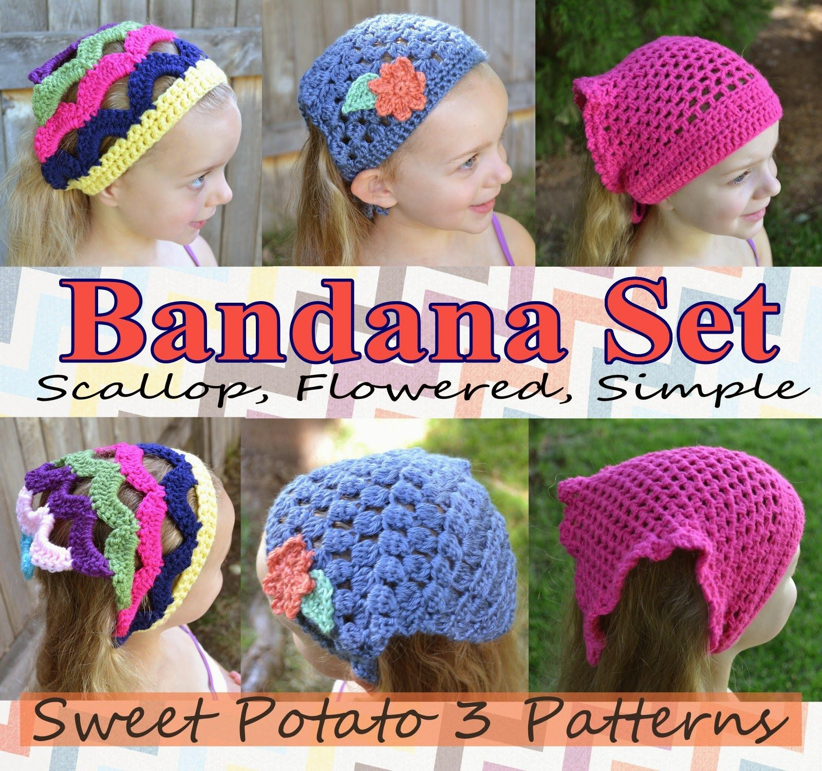 My Sweet Potato 3: Bandana Pattern Releases Crochet Head Wrap ...