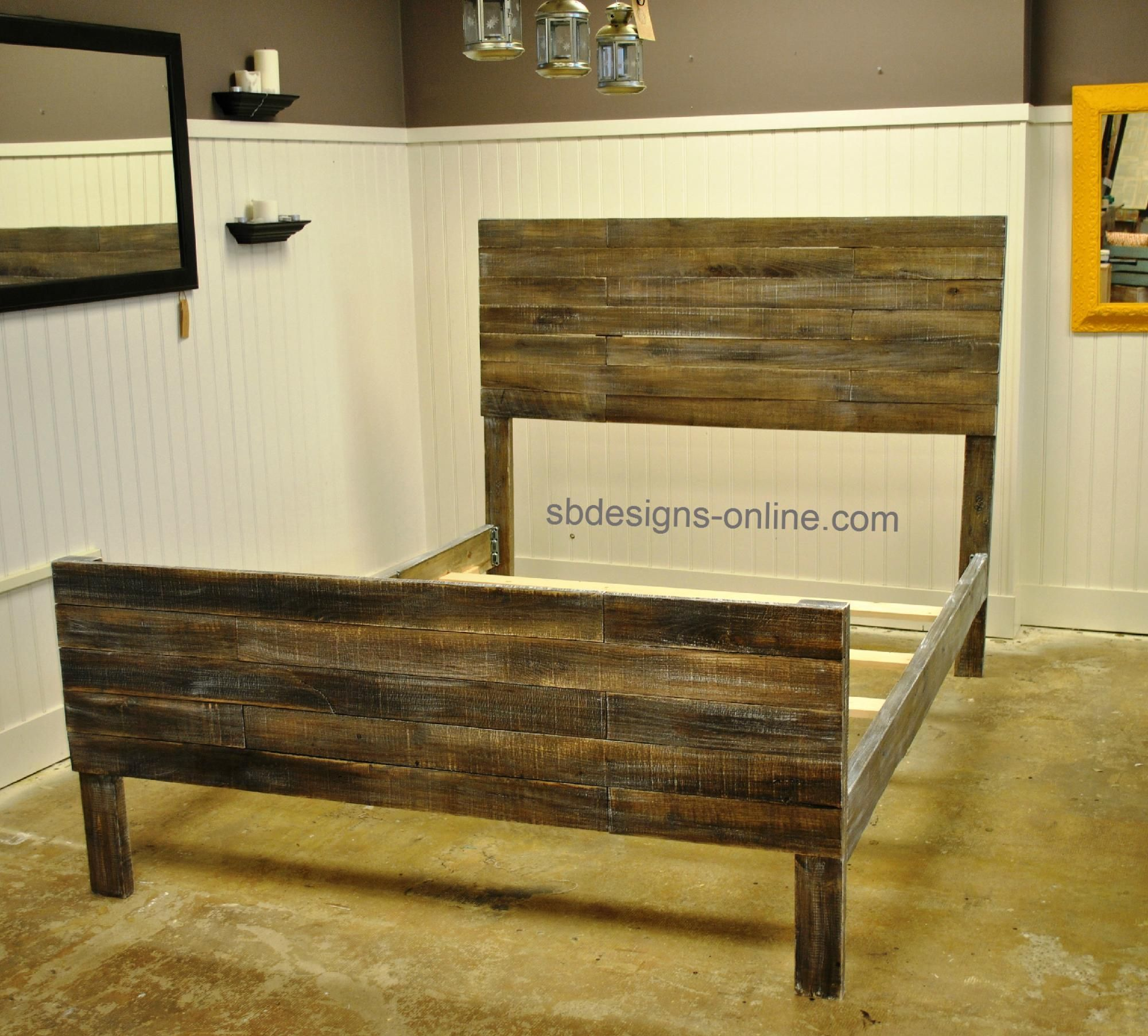 Pallet Bed Sb Designs Custom Furniture