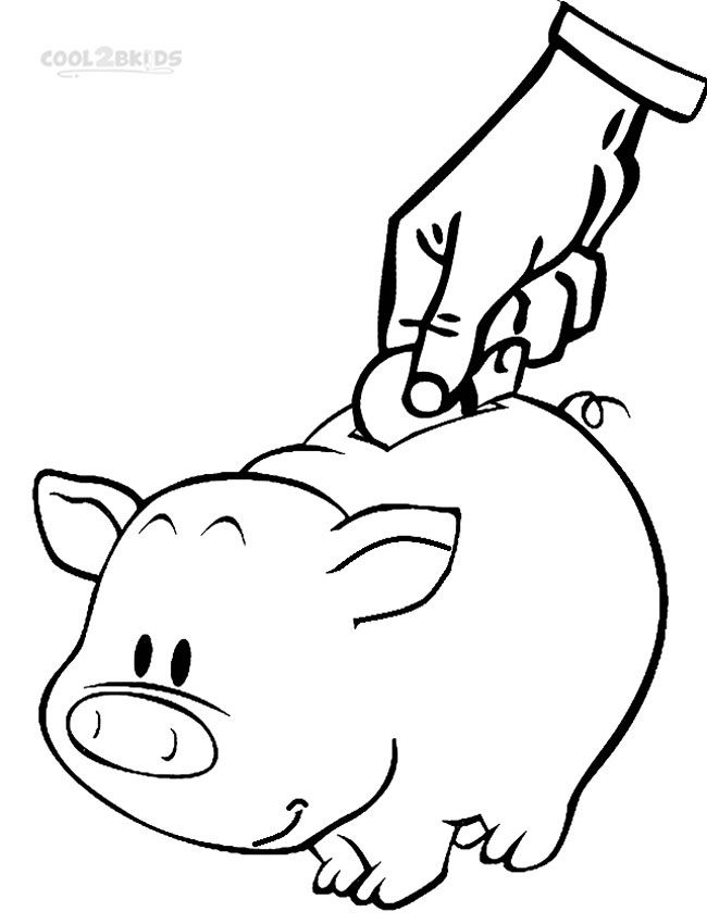 Printable Money Coloring Pages For Kids Cool2bkids In 2020