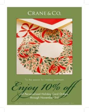 Crane Christmas Cards Discount