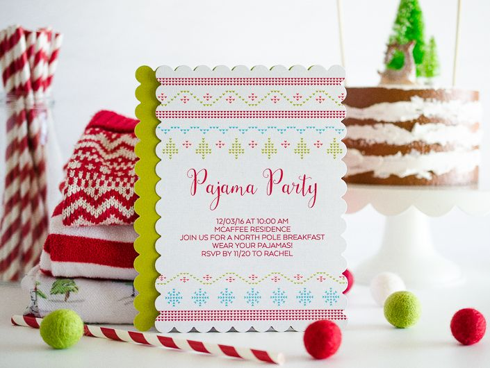 Pajama Christmas Party Ideas Part - 15: A Christmas Pajama Party! What Better Way To Usher In The Holidays Than  With Cozy