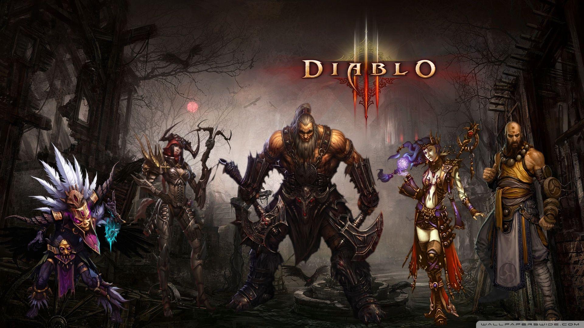 Diablo HD Wallpapers Widescreen 1920—1080 Diablo 3 Wallpapers