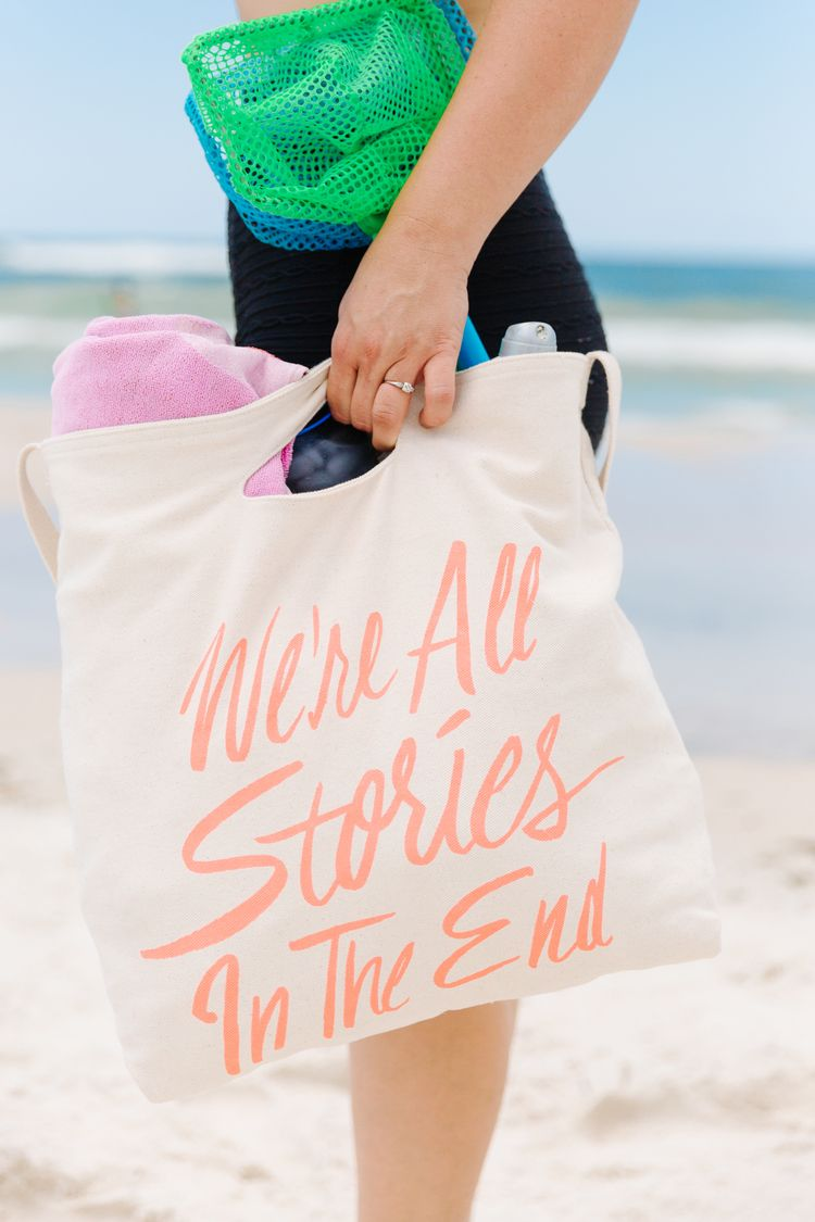 We're All Stories | Doctor Who Tote Bag