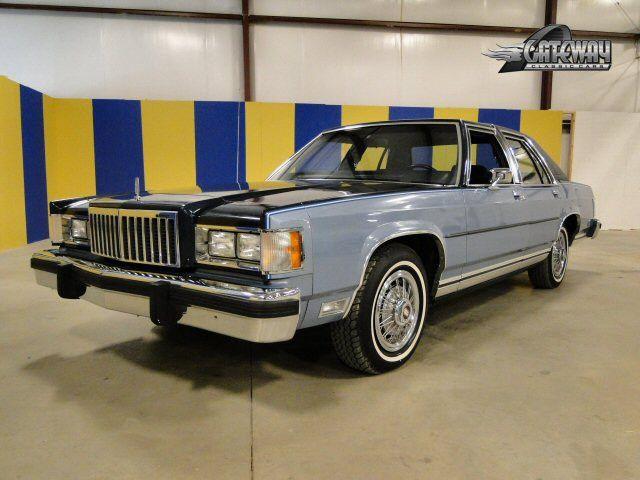 1985 Grand Marquis In Dark Blue And Pastel Regatta Metallic Two Tone Autos Clasicos Autos Coches