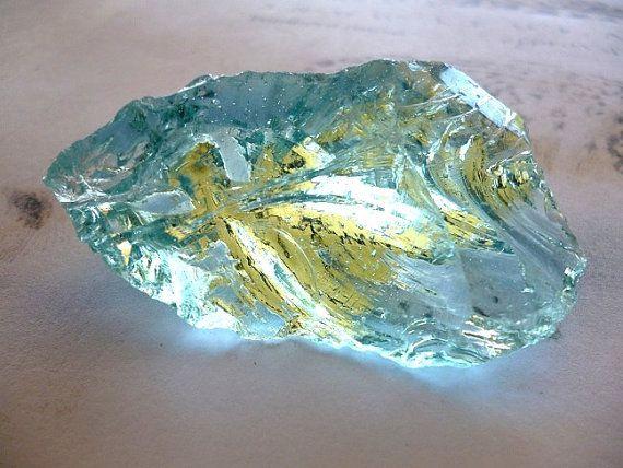 Volcanic glass