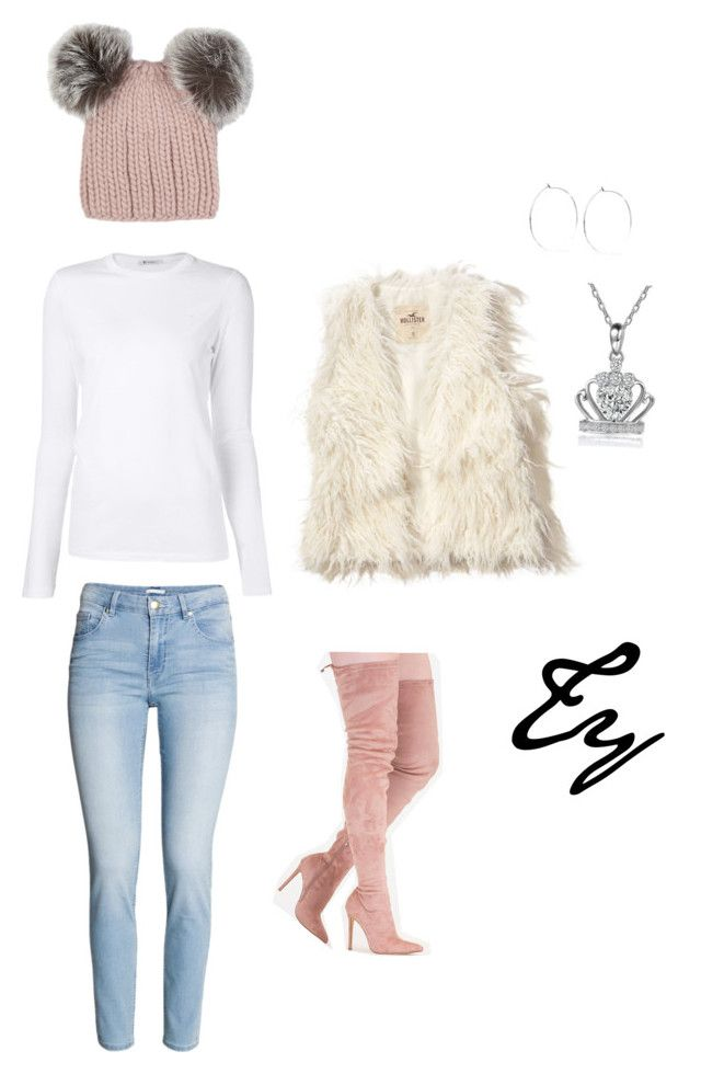 """Cute&Cozy..."" by colorhertrendy on Polyvore featuring T By Alexander Wang, Hollister Co., Catbird and Eugenia Kim"