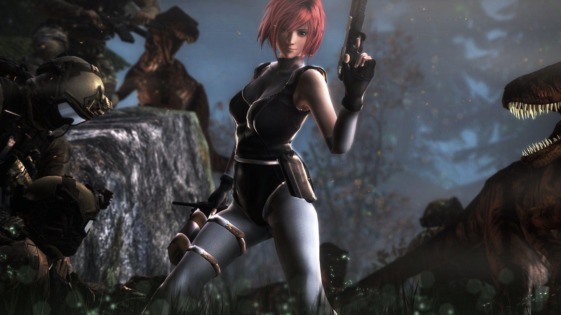 Regina Dino Crisis Dino Crisis Capcom Vs Resident Evil
