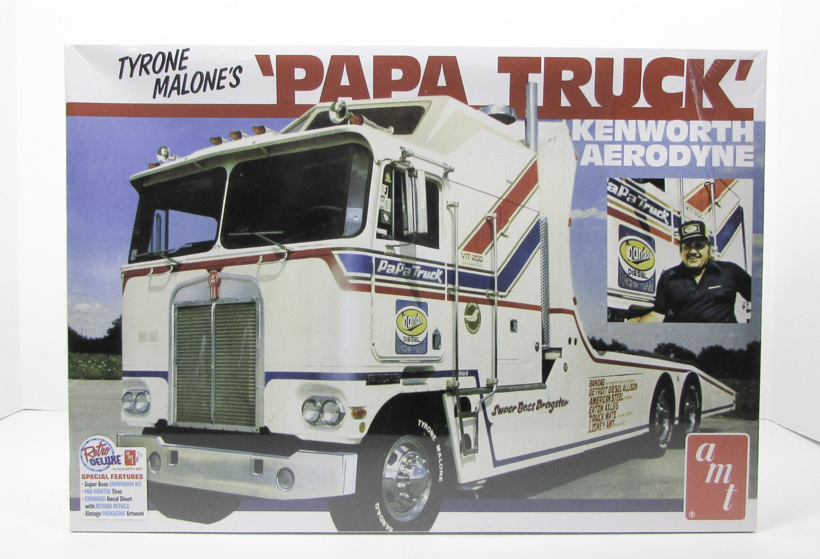 Tyrone Malone's Papa Truck AMT 932 1/25 New Truck Model Kit