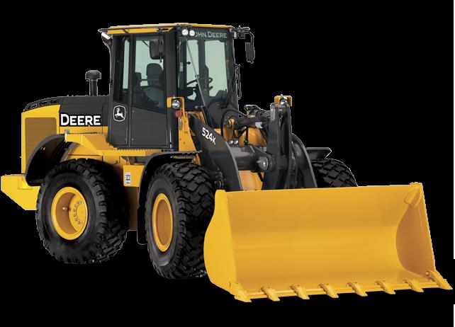 John Deere 524K Wheel Loader JD construction equipment