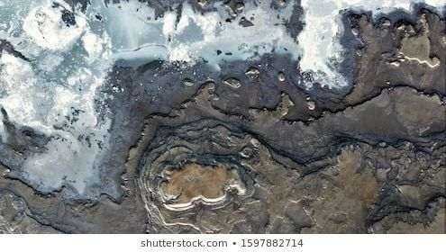 the contaminated Antarctica abstract photography of the deserts of Africa from the air aerial view of desert landscapes Genre Abstract Naturalism from the abstract to the...