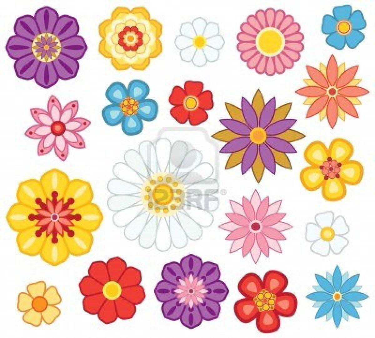 cartoon flowers Google Search Kids stuf Pinterest