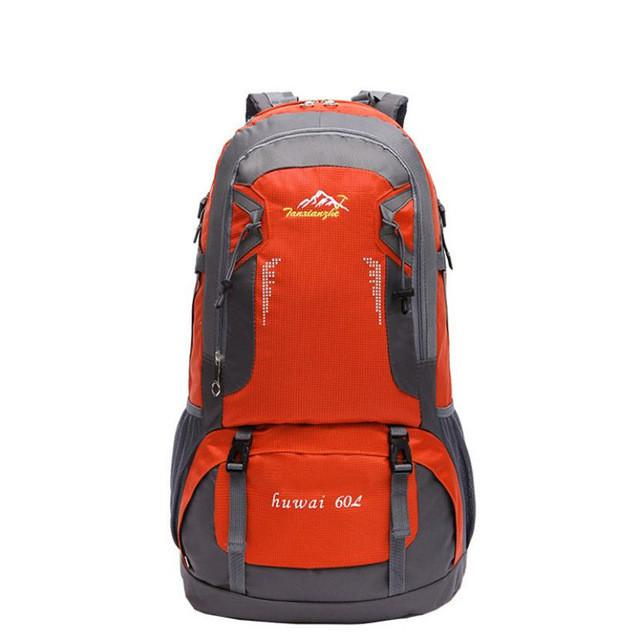 37f1347fd042 60L Pro Outdoor Hiking Bag Camping Travel Waterproof Mountaineering ...