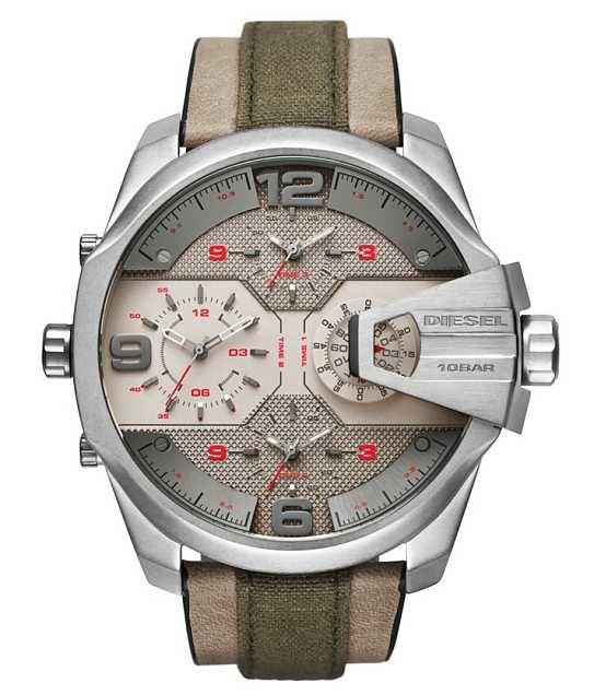 26598929ce47 Diesel Uber Chief Watch - Men s Watches in Brown