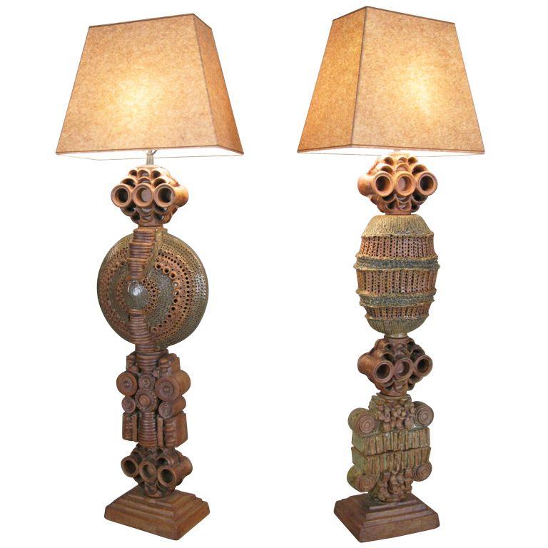 Last Night Totem Floor Lamps Living Room Contemporary Floor Lamps Floor Lamp