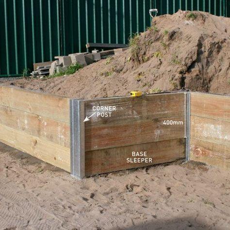 build retaining wall building
