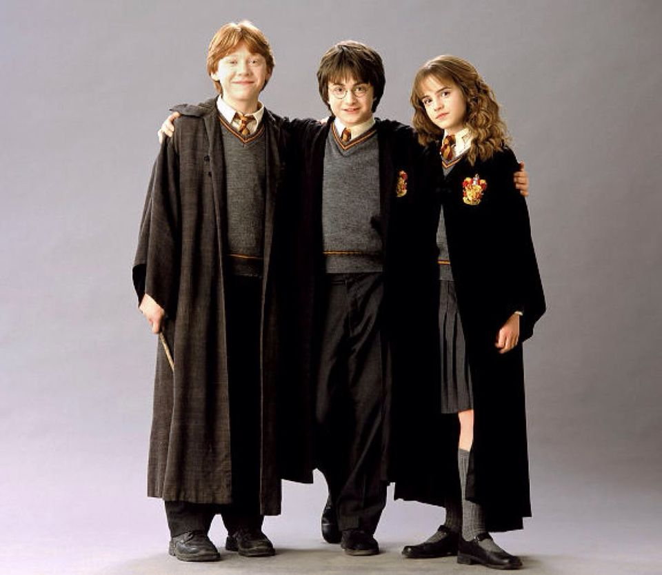Harry potter rocks