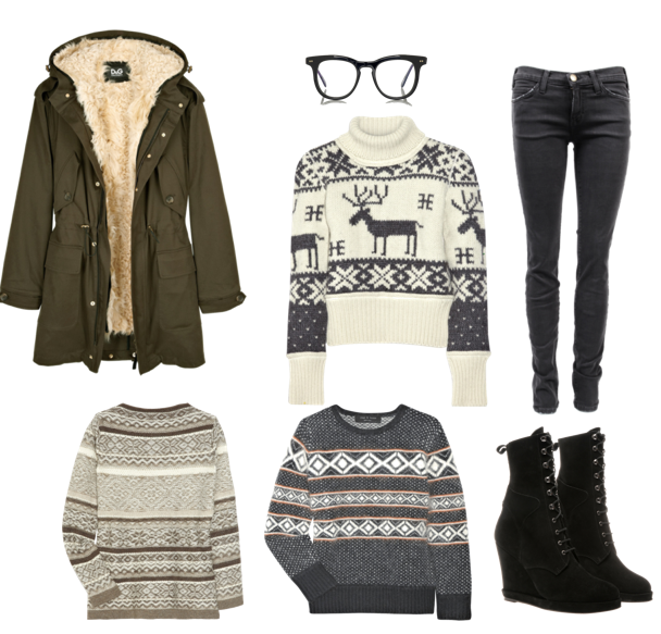 Winter street fashion: knitted goodies & sweaters | STREET Fashion ...