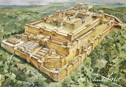 Храм Соломона и Храм Ирода в Иерусалиме:
