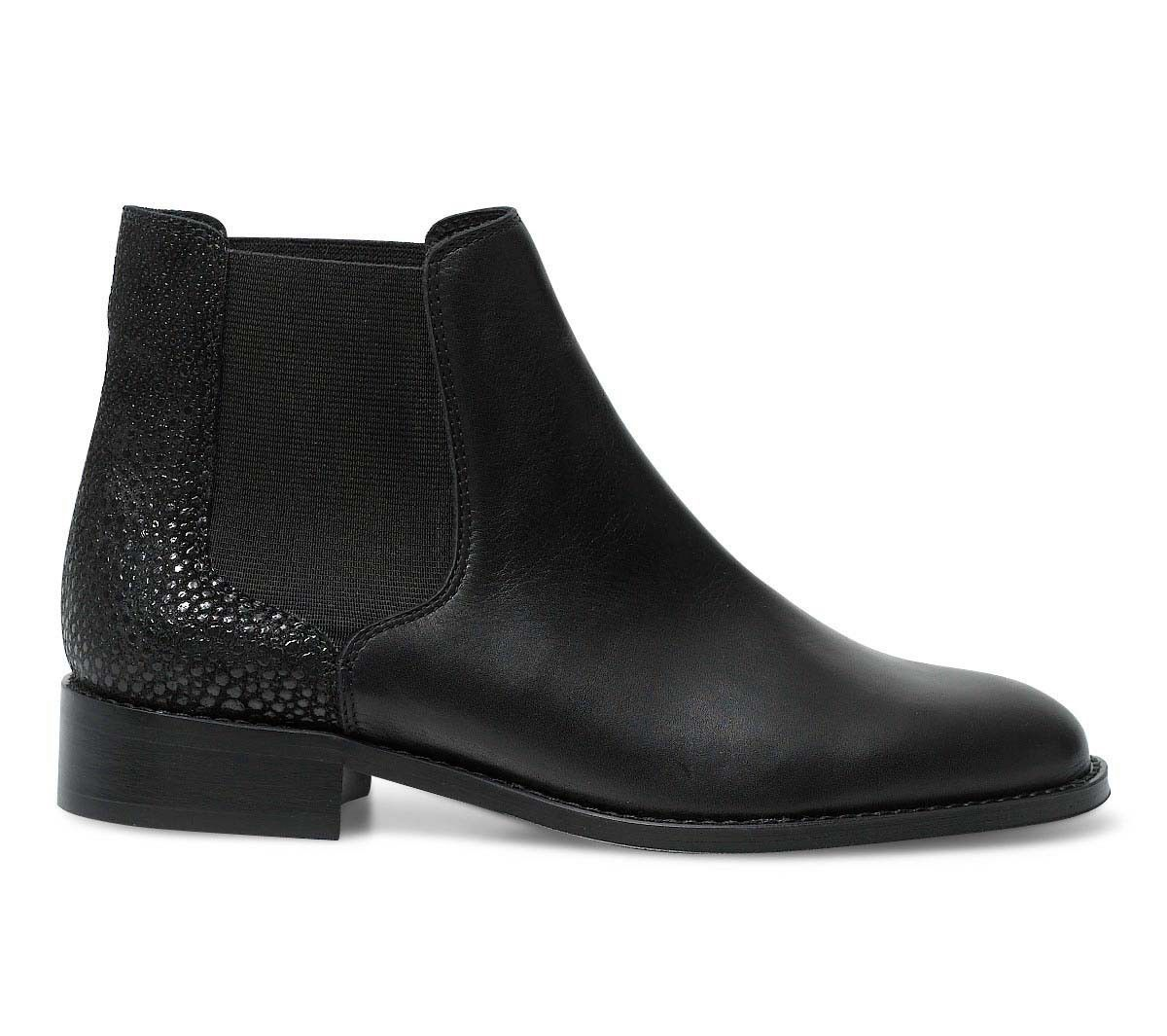 bottines noires en cuir femme | shoes selection | pinterest